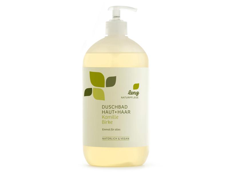 Duschbad Haut + Haar Flasche